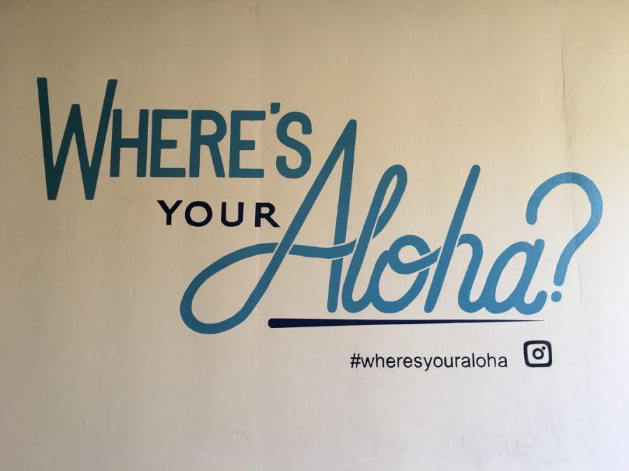 Where's your aloha?