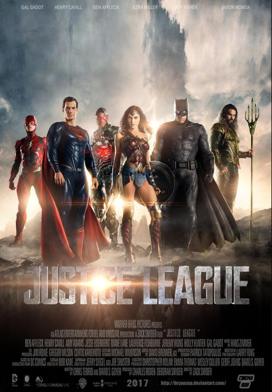 Warner Brothers publicity poster 2017.