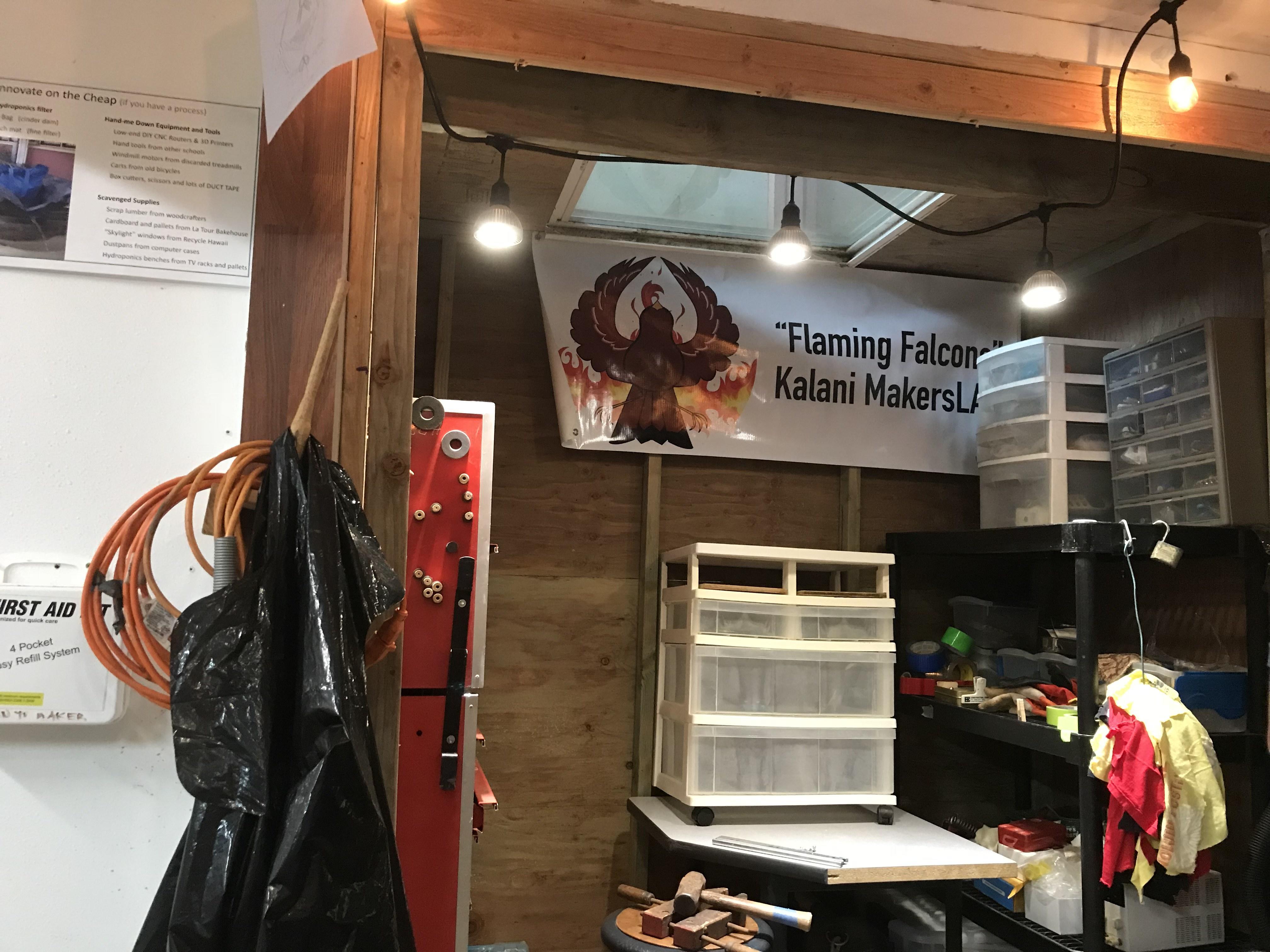 Kalani Maker Lab. Photo by Kaitlyn Tsuha 2018.