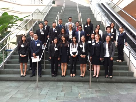 Business elective students at the state competition in 2018. Photo courtesy of L. Potterton.