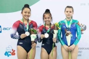 Kayttie Nakamura takes gold