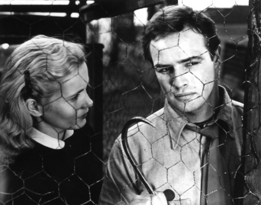 A film still from Elia Kazan's On the Waterfront.