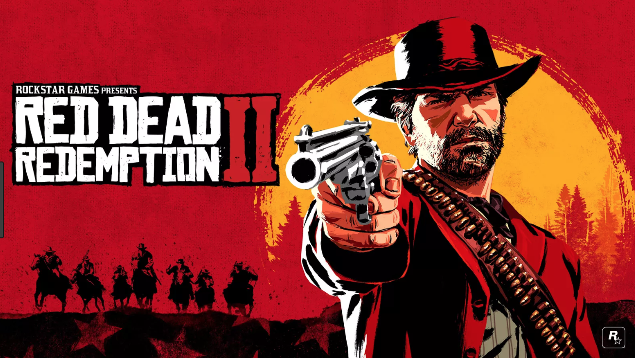 Red Dead Redemption 2 is a western-themed, action video game created and published by Rockstar Games. It is available on Xbox One and PlayStation 4. Rockstar publicity poster 2018.