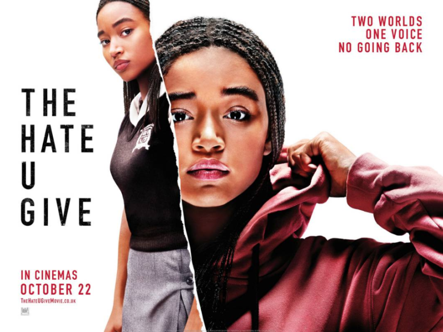 UK Poster Exclusive For Amandla Stenberg's new drama The Hate U Give. Release date: October 5, 2018 (USA). Director: George Tillman Jr. Screenplay: Audrey Wells. 20th Century Fox 2018.
