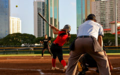Kalani Wallops McKinley in Softball Scrimmage