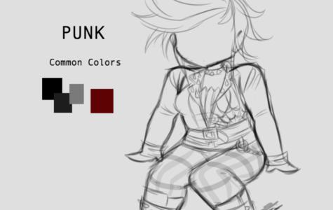 Punk palette by Sophia Morton 2019.