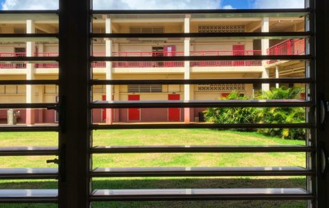 Classes at Kalani sat mostly empty through Quarter 1. Ka Leo staff photo.