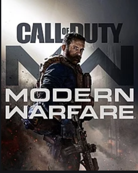 Call of Duty: Modern Warfare official logo.