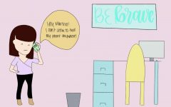 Be Brace is a comic series designed by Sarah Jessica Saiki with Procreate.