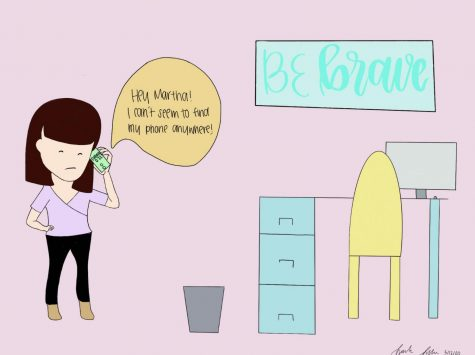 Be Brace is a comic series designed by Sarah Jessica Saiki with Procreate.