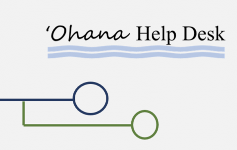 'Ohana Help Desk logo courtesy of the Hawaii Dept. of Education 2020.