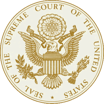 The official seal of the Supreme Court of the United States. Wiki Commons.