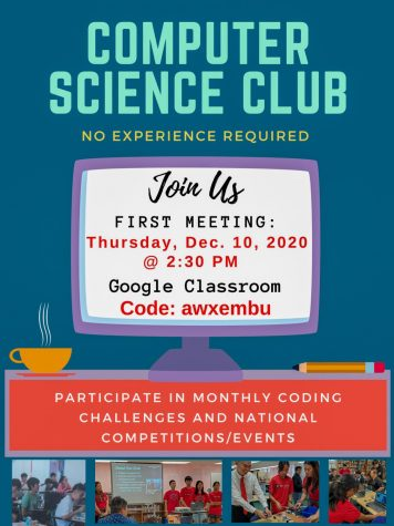 Its Computer Science Education Week and the Kalani CS Club will be hosting a virtual Hour of Code event on Dec. 10 after school at 2:30 p.m. for anyone interested in learning about how computers do what they do, CS Advisor Mr. Ida said. No experience necessary and all are welcome! Photo courtesy of Michael Ida.