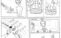 Our Modern World comic created and illustrated by Alana Nakafuji.